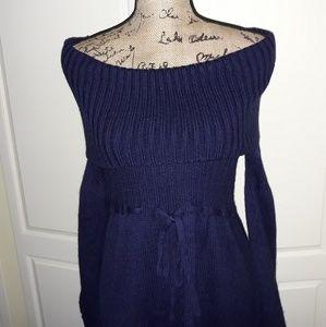Nvy blue knitted Calvin Klein Dress